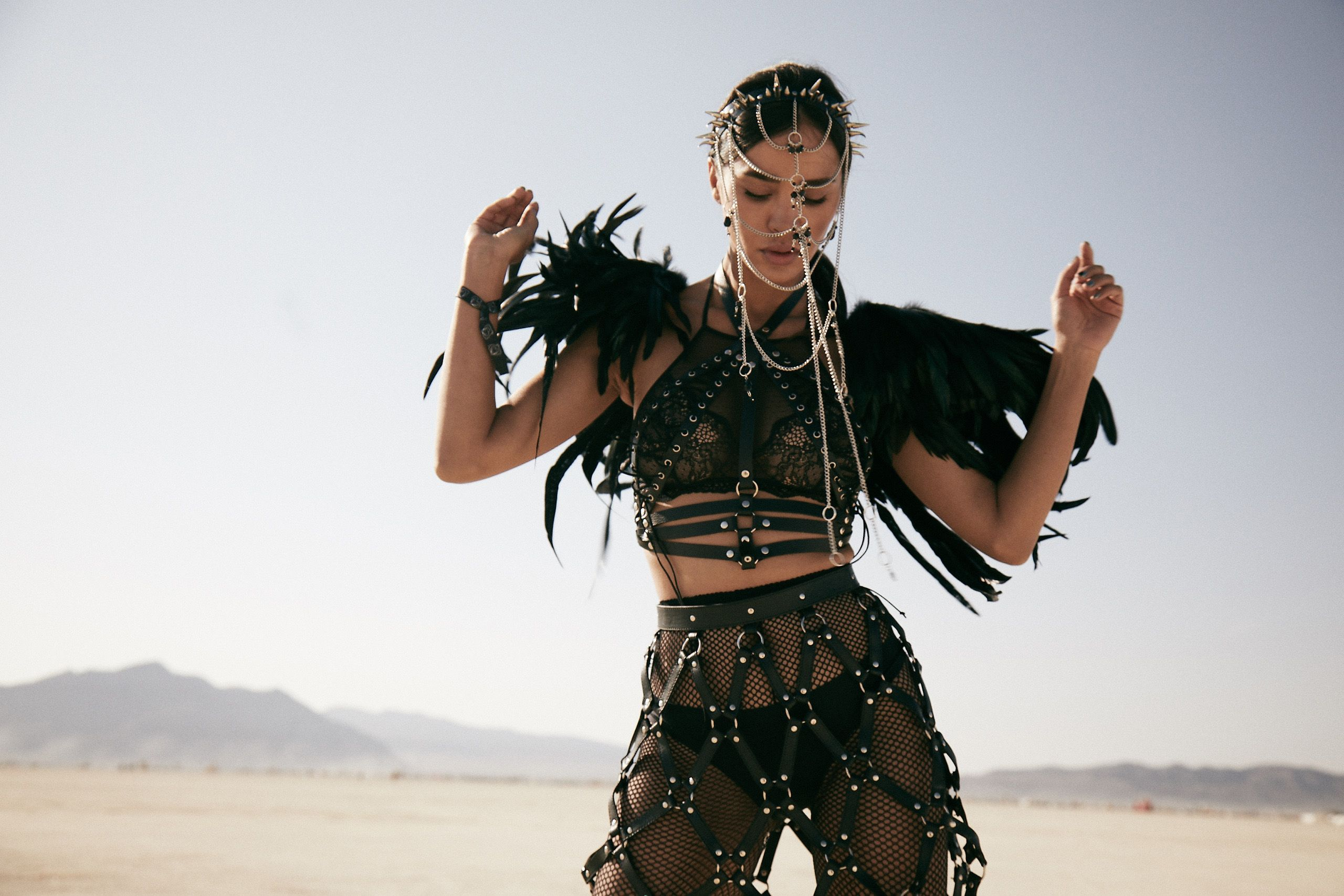 The Most Insane Fashion Looks From Burning Man 2018