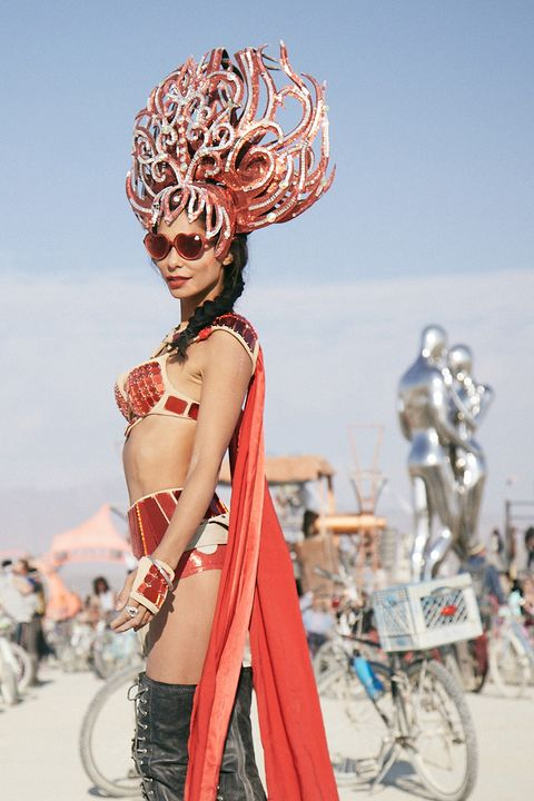 The Most Insane Fashion Looks from Burning Man 2018 Outrageous Outfits From Burning Man