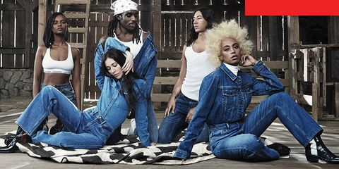 Jeans, Denim, People, Human, Fun, Sitting, Textile, Photography, Style,