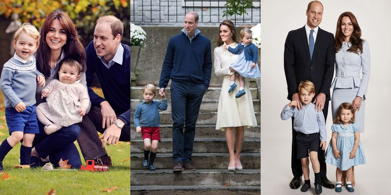 Family Photo Kate And William