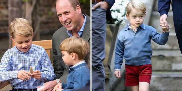 ルイ王子 ジョージ王子 シャーロット王女 キャサリン妃 ケンブリッジ公爵