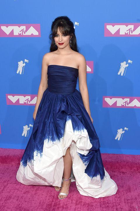 Camila Cabello Wears An Oscar De La Renta Princess Dress To The 2018