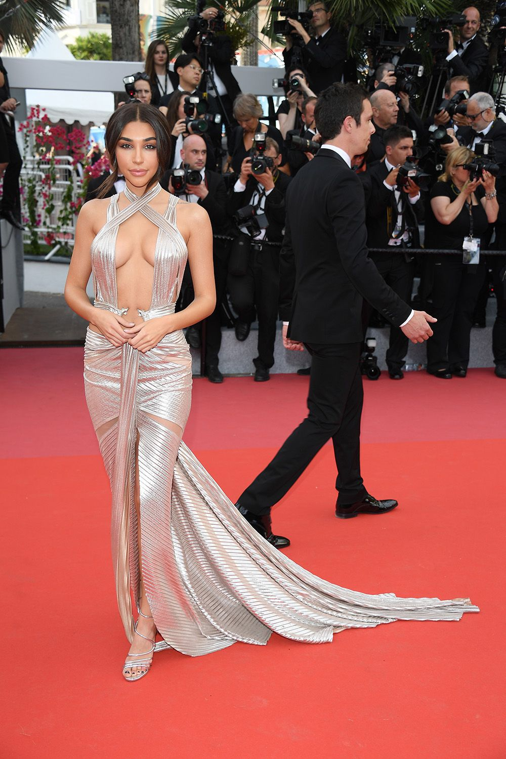 images The Most Naked Dresses on The Cannes Red Carpet