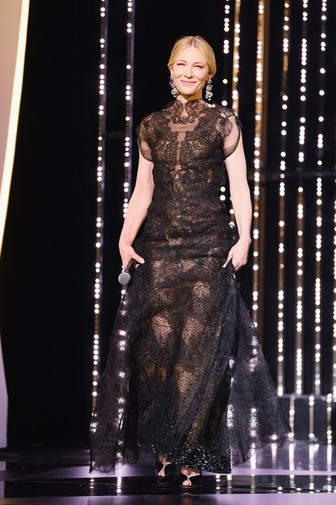 Cate Blanchett Recycles Armani Gown from 2014 at Cannes - Hot ...