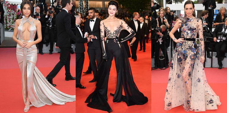Cannes Film Festival 2018 Naked Dresses
