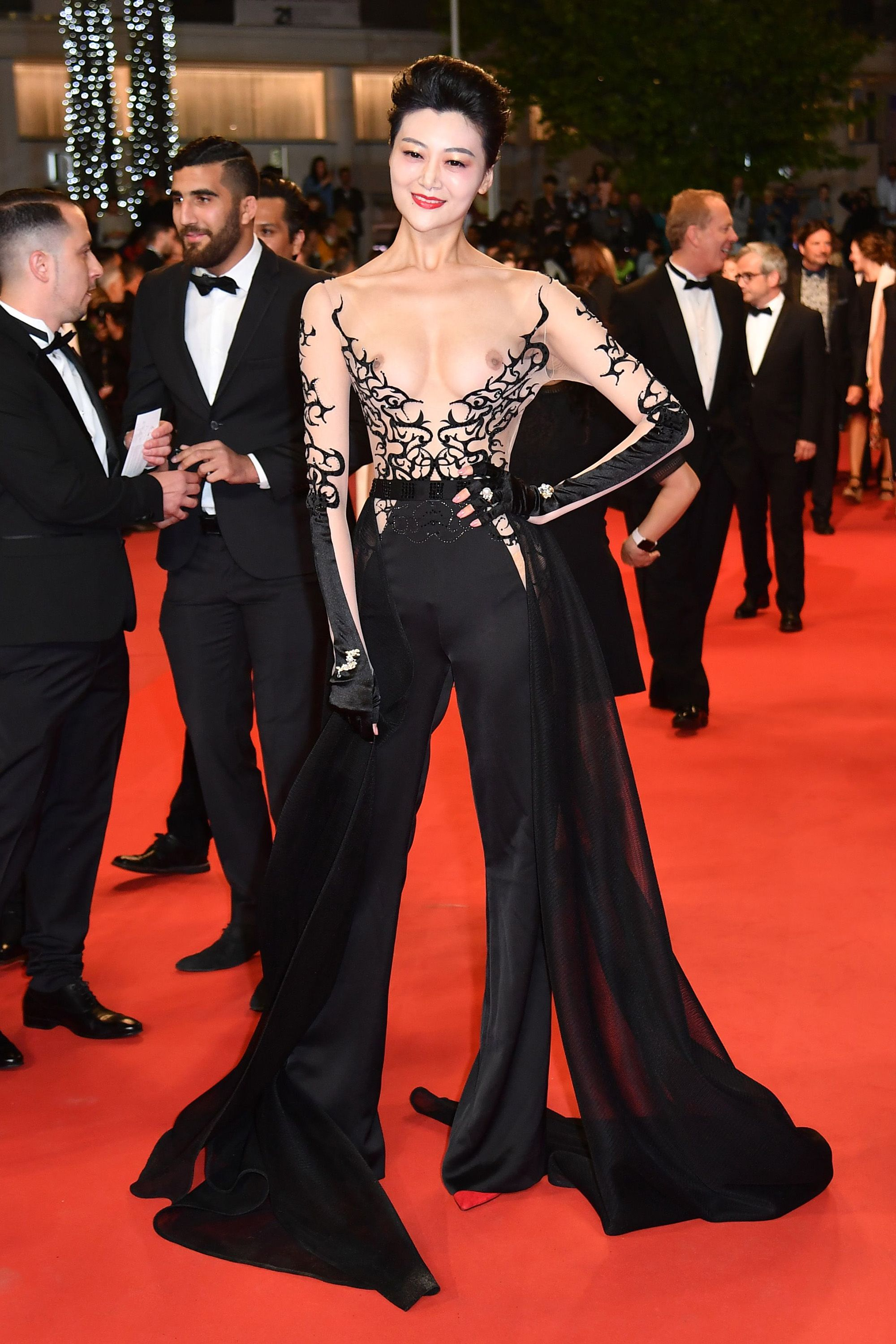 The Most Naked Dresses on The Cannes Red Carpet