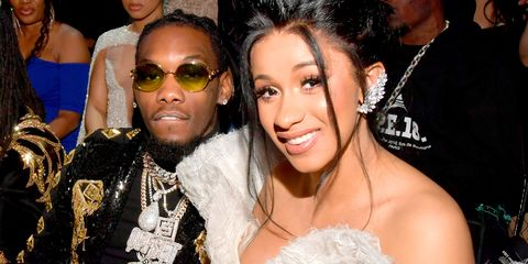 cardi b confirms she married offset last year cardi b and offset married in september