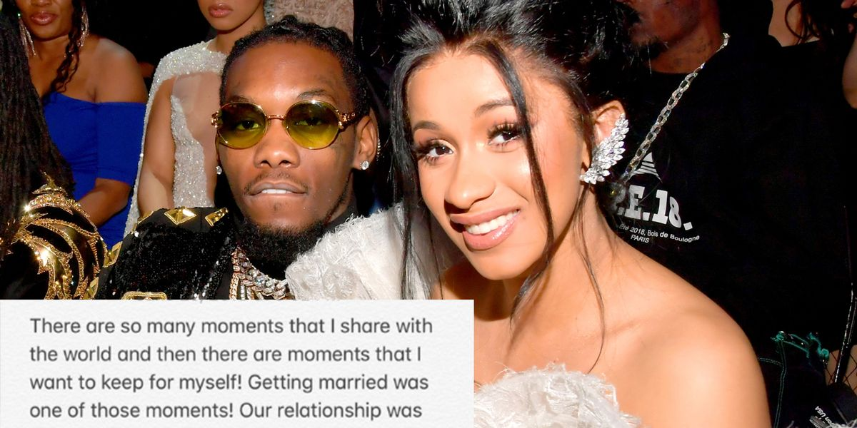 Cardi B Confirms She Married Offset In September: Cardi B Confirms She Married Offset Last Year