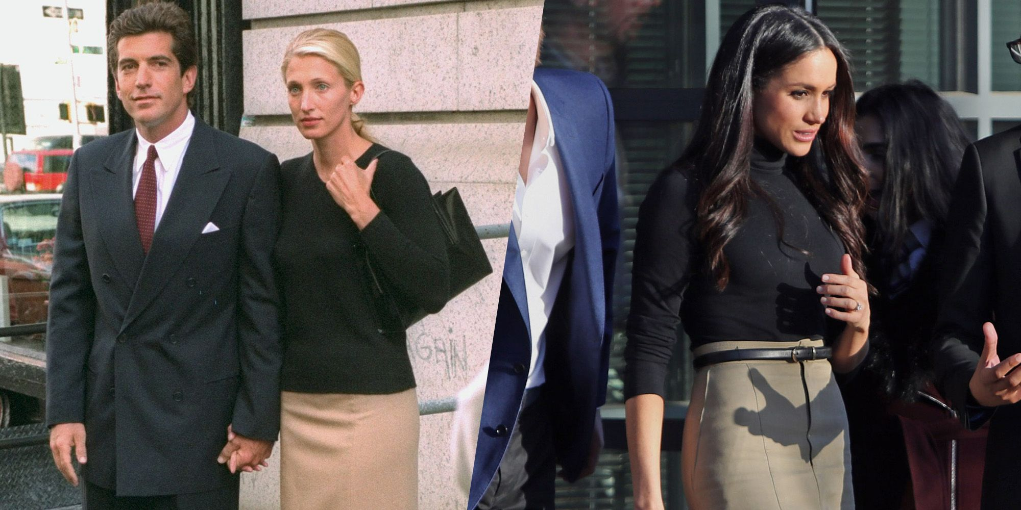Meghan Markle Channels Carolyn Bessette-Kennedy at First Royal ...