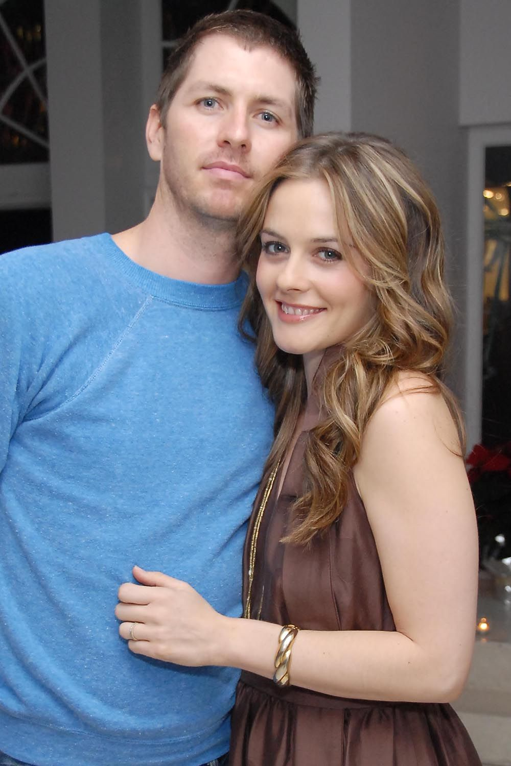 Christopher Jarecki and Alicia Silverstone