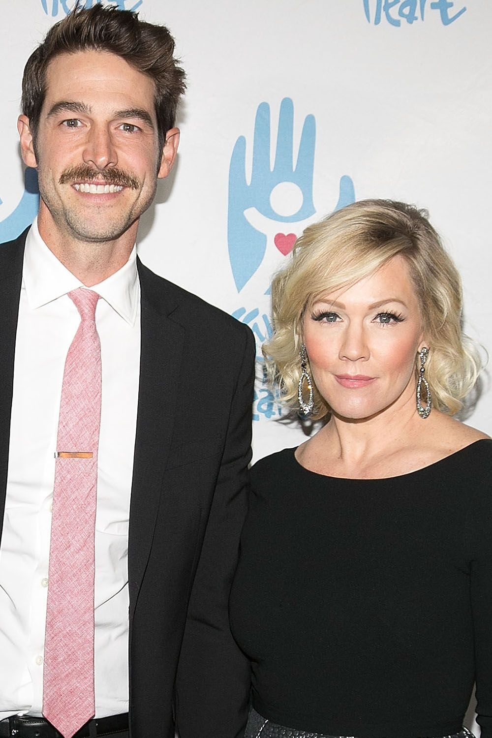 Dave Abrams and Jennie Garth