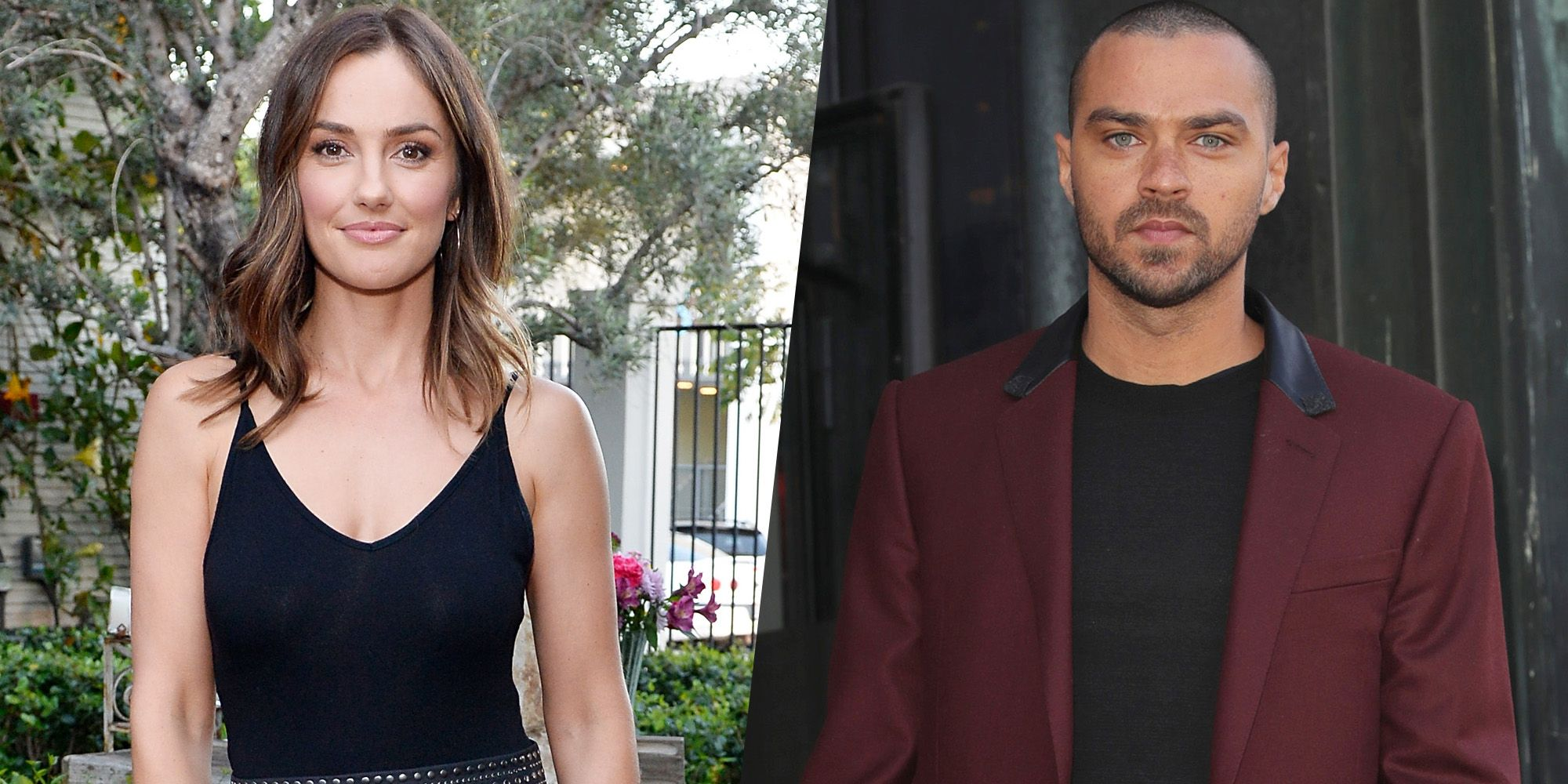 Minka Kelly and Jesse Williams