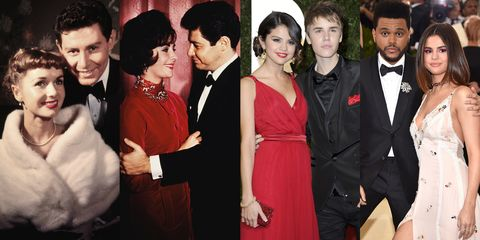 7 Celebrity Love Triangles You Didn't Know About – Fame10