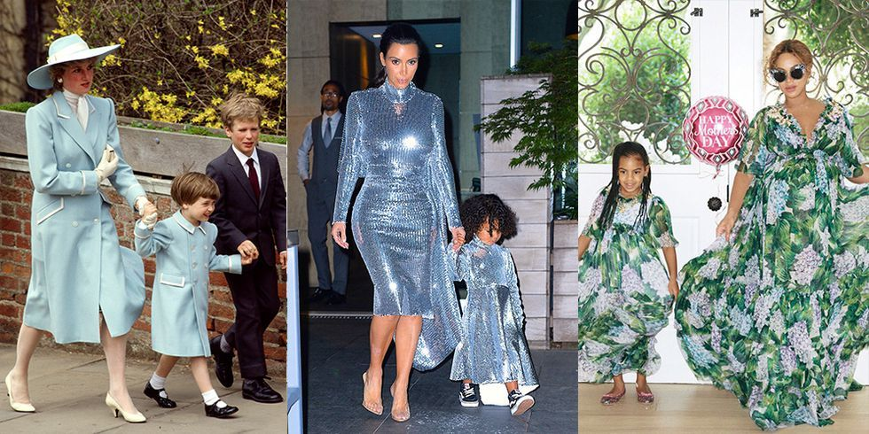 30 Times Celebrity Parents and Their Kids Dressed Like Twins