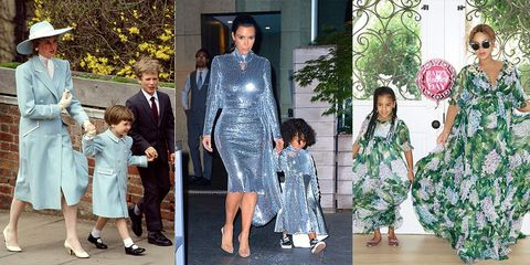 e16f28bdfb0 Celebrity Parents and Their Kids Dressed Like Twins - Celebrity ...