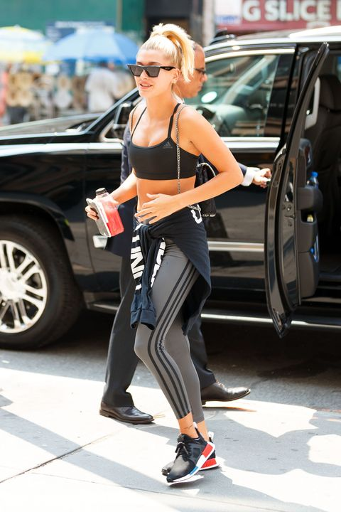 Celebrity Workout Clothes What To Wear While Working Out