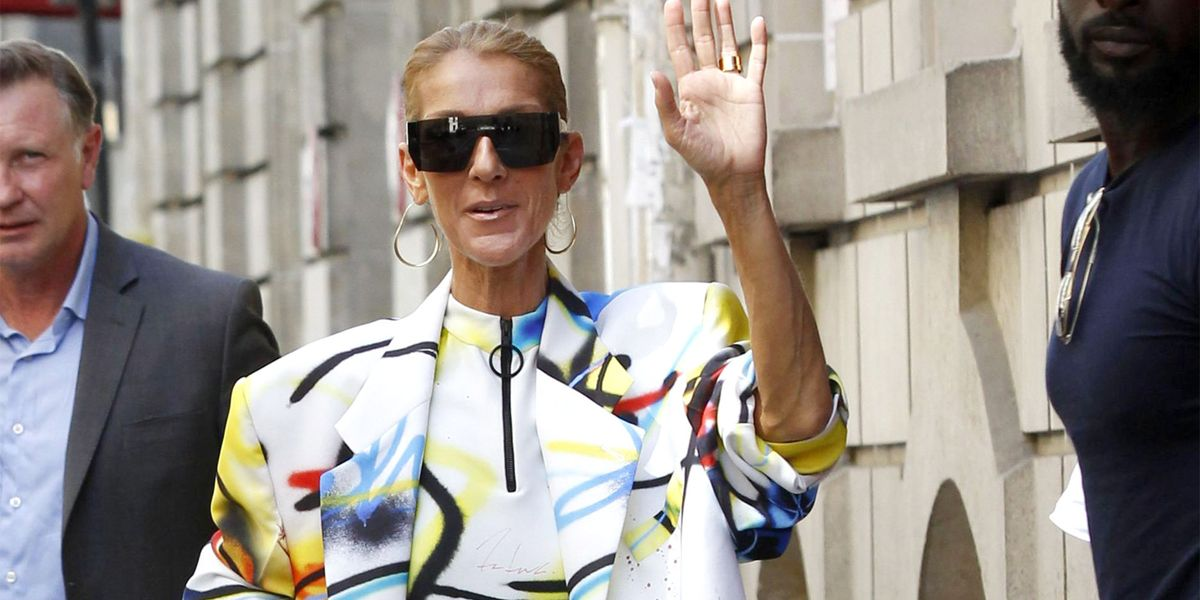 ca32186daf01d Celine Dion Steps Out In No Pants at Paris Couture Week