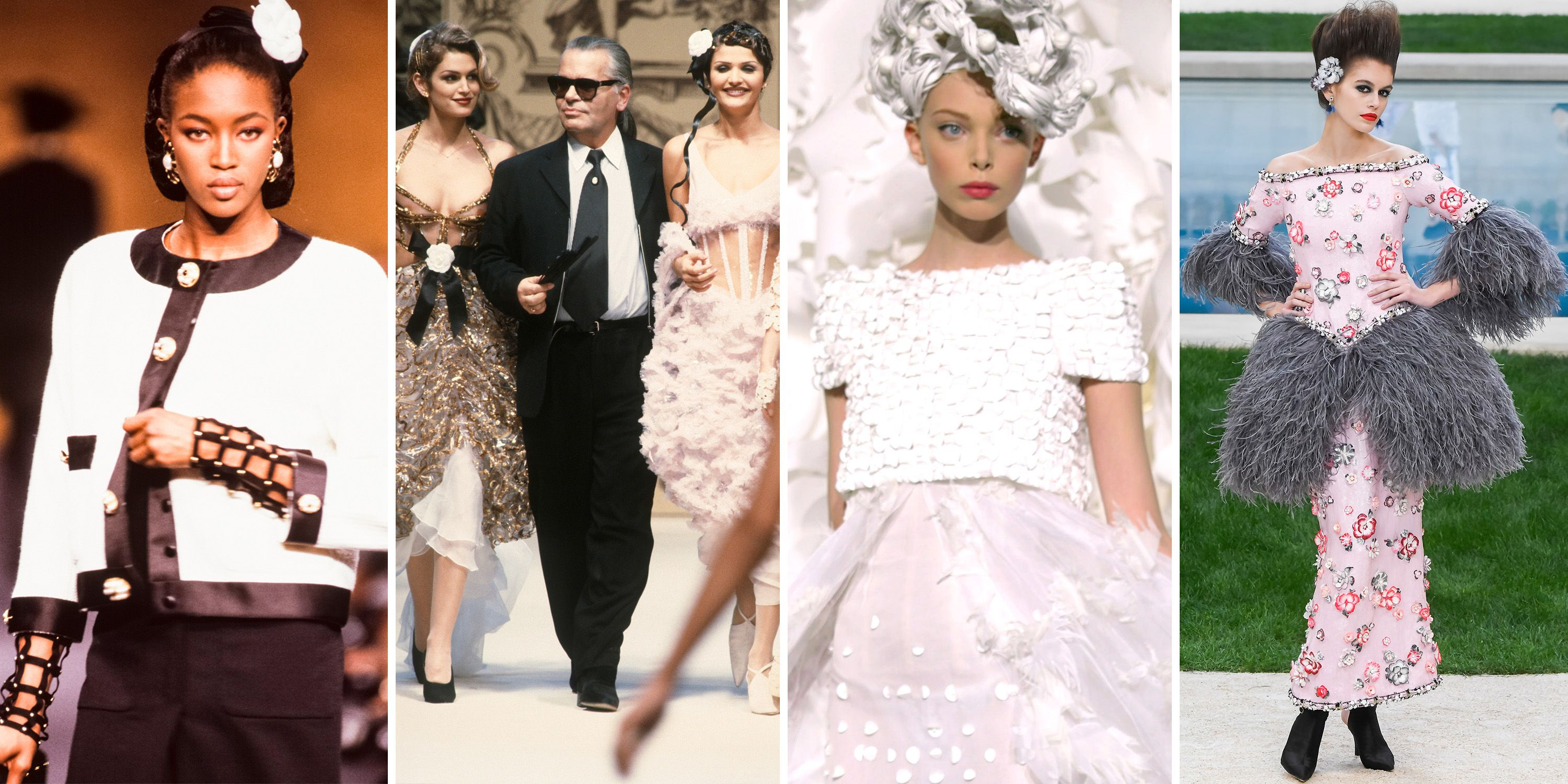 4a522780a 100 of Karl Lagerfeld's Best Chanel Runway Moments - Karl Lagerfeld ...