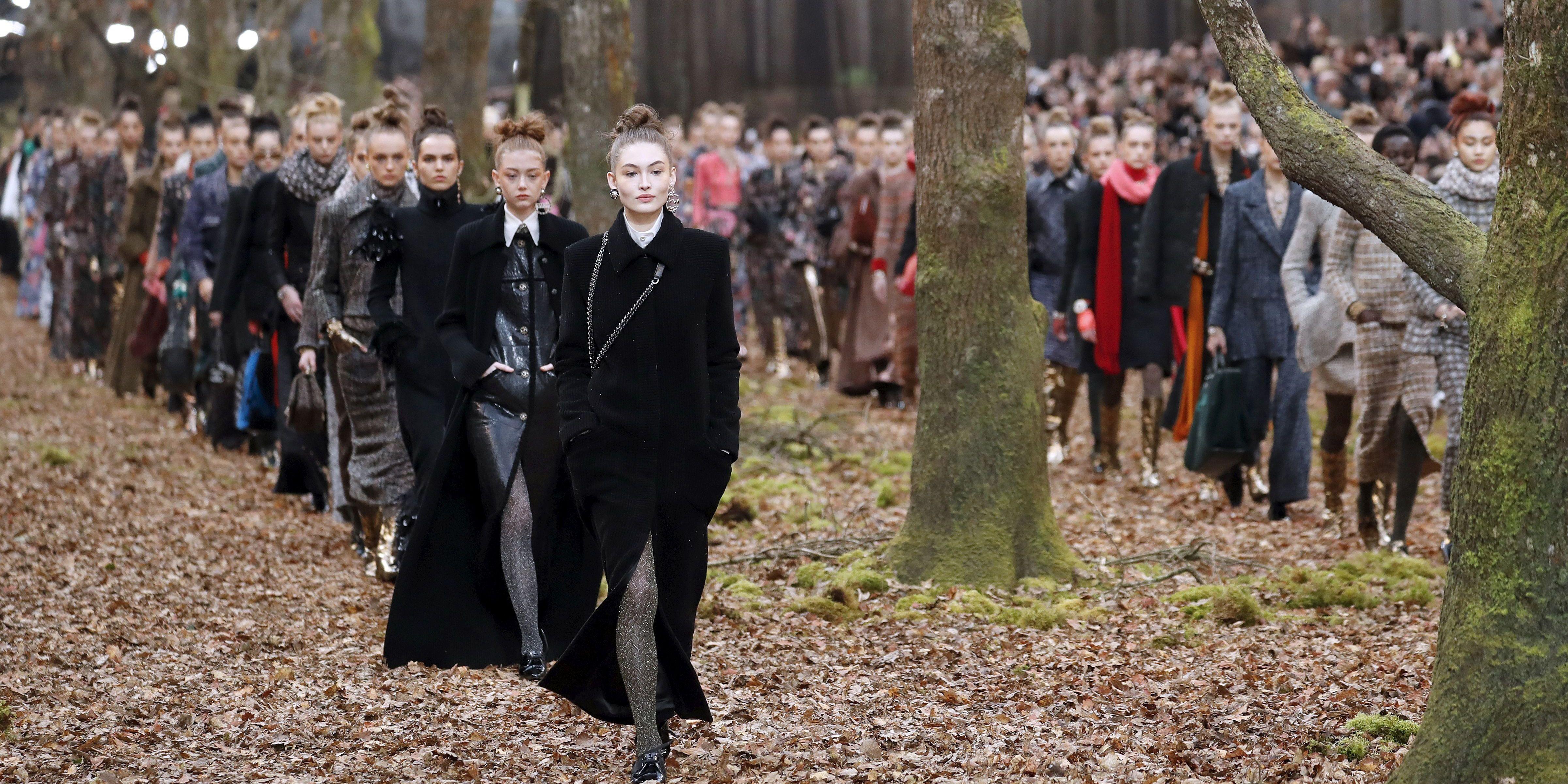 Chanel fashion show 2018 video 52