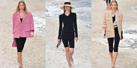 Clothing, White, Black, Fashion, Fashion model, Outerwear, Footwear, Sleeve, Neck, Summer,