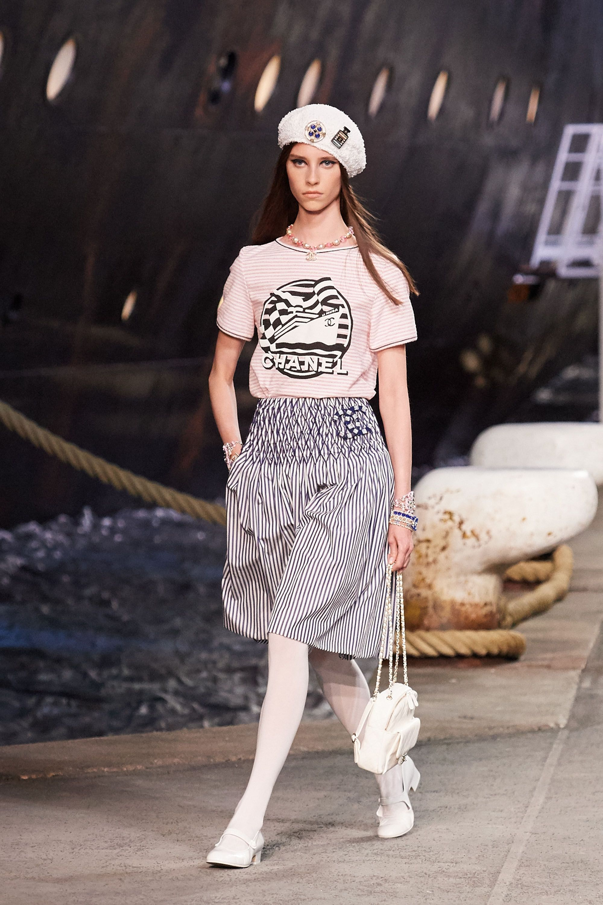 52eb7bab2e8e All of the Looks from Chanel s Epic Cruise Collection