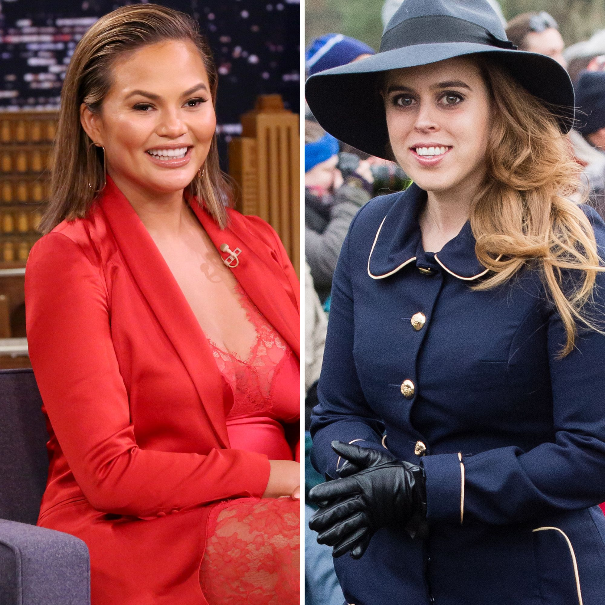 Princess Beatrice Offers To Be Chrissy Teigen's Goddaughter On Twitter