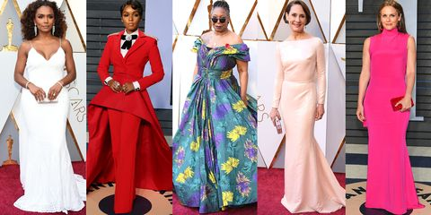 Siriano Dressed 17 Women At Oscars 2018 Celebrities In