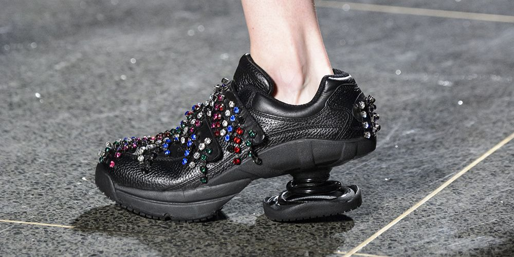 Christopher Kane Orthopedic Shoes London Fashion Week