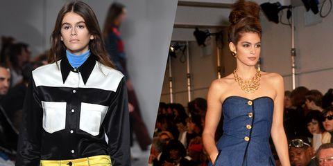Fashion model, Hair, Fashion, Clothing, Hairstyle, Cobalt blue, Beauty, Model, Lip, Fashion show,