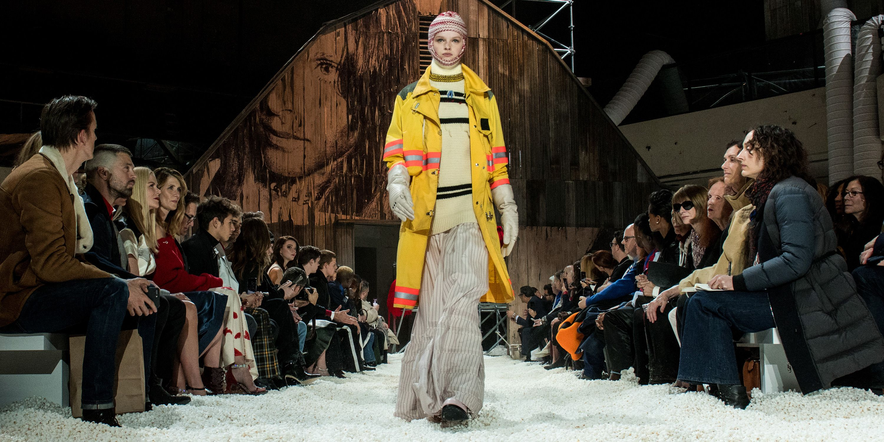 f326d1ae Calvin Klein Runway of Popcorn Fall 2018 - Calvin Klein Popcorn Show New  York Fashion Week