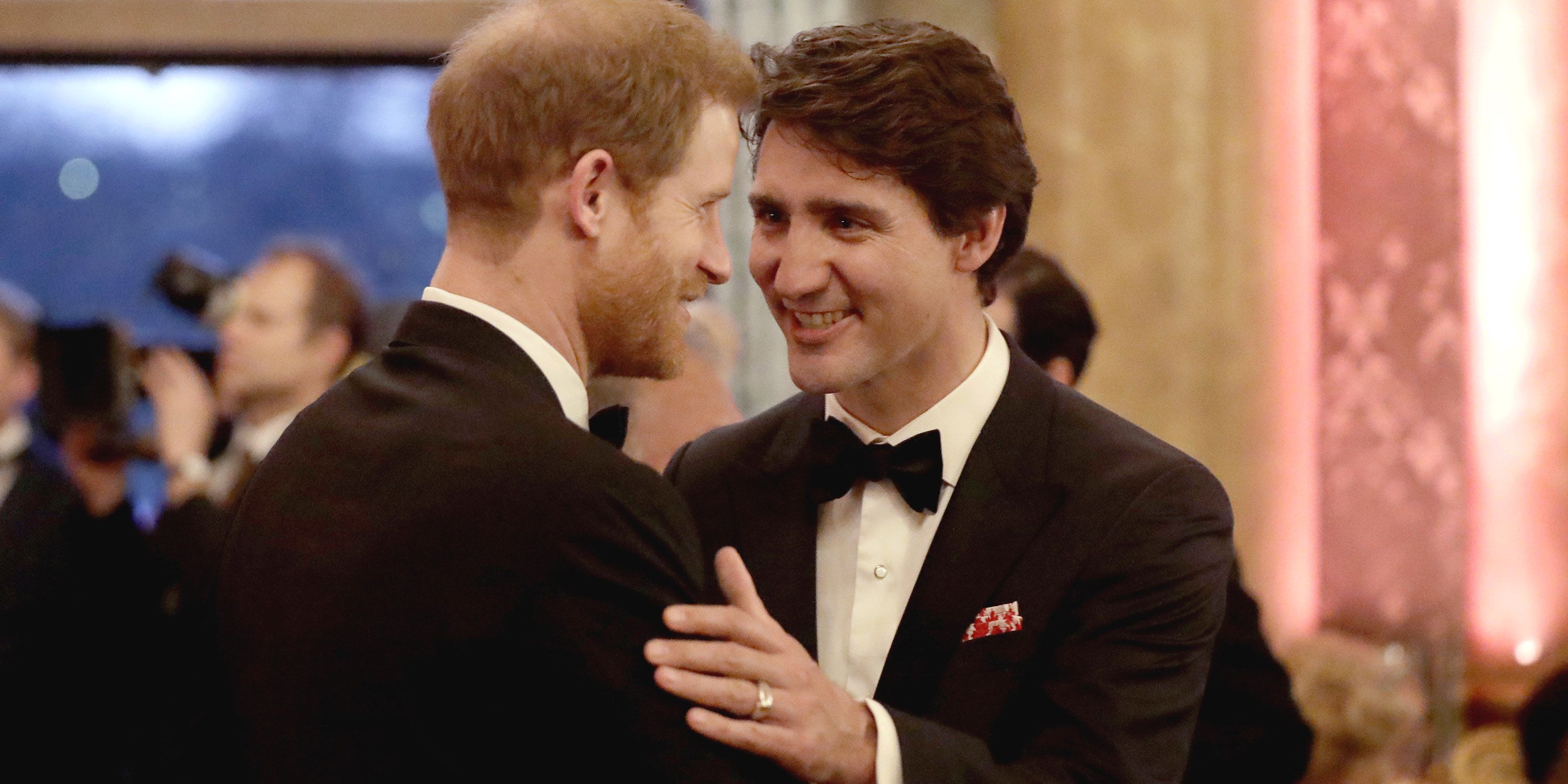 commonwealth-dinner-prince-harry-justin-trudeau