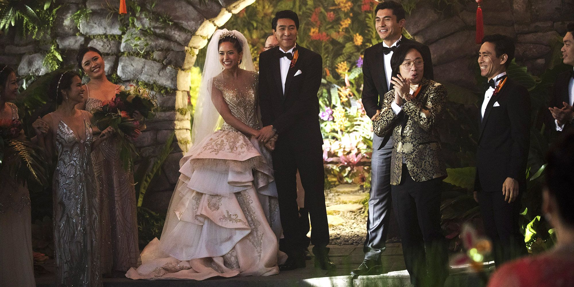 How The Crazy Rich Asians Wedding Scene Came Together Behind The