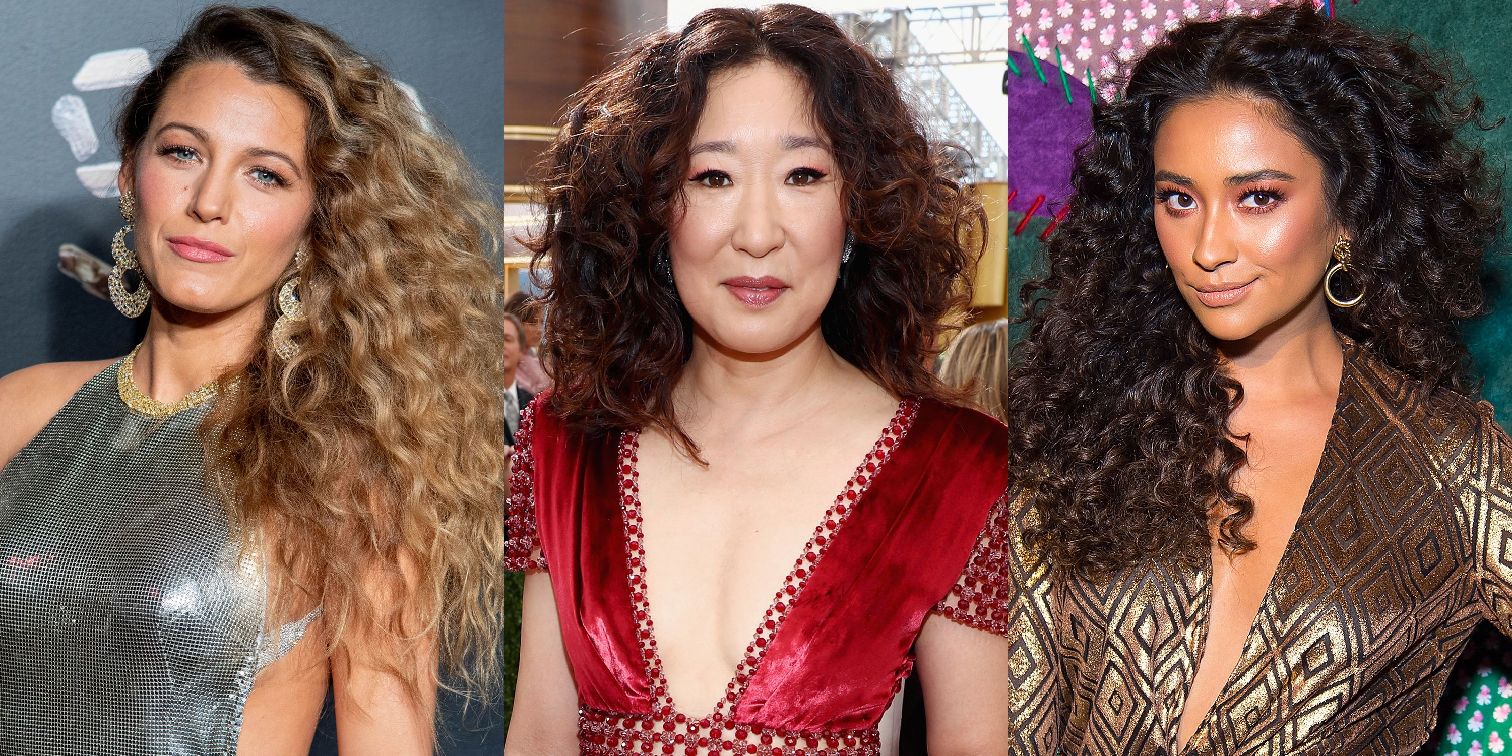 30 Celebrity Curly Hairstyles We Love