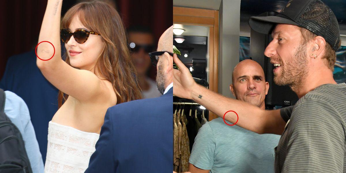 Dakota Johnson and Chris Martin Were Spotted With Matching ...