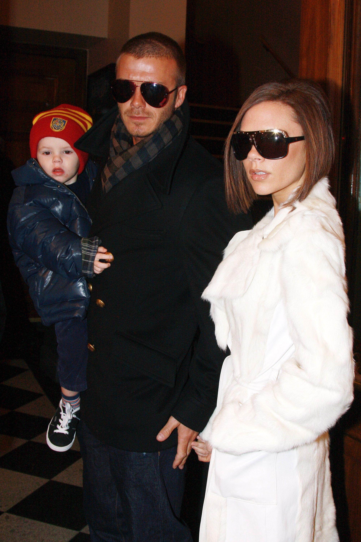5ef9d069e40ca Victoria and David Beckham Style Transformation - Victoria and David Beckham  Outfit Pictures