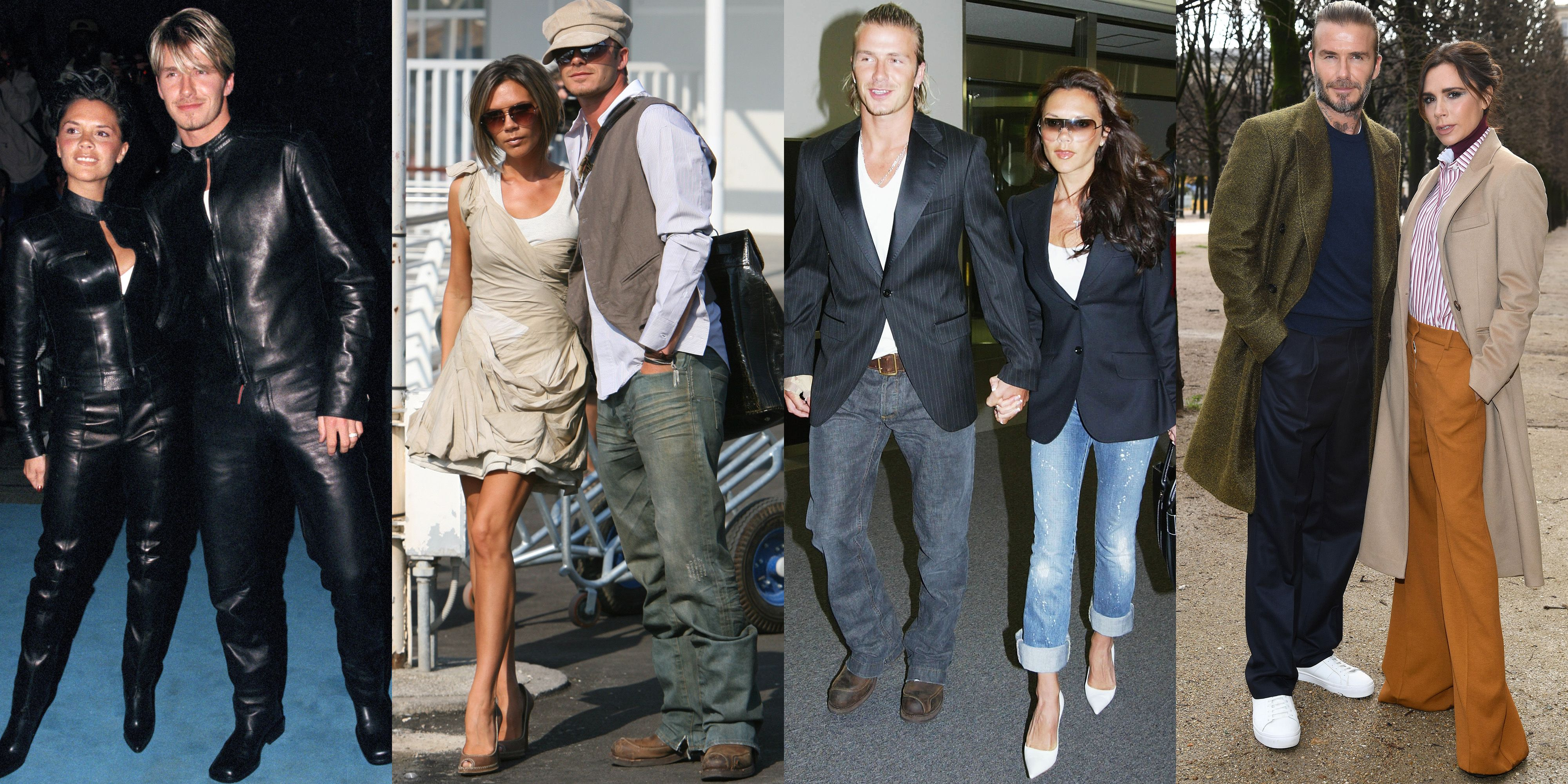 Victoria and David Beckham Style Transformation Victoria