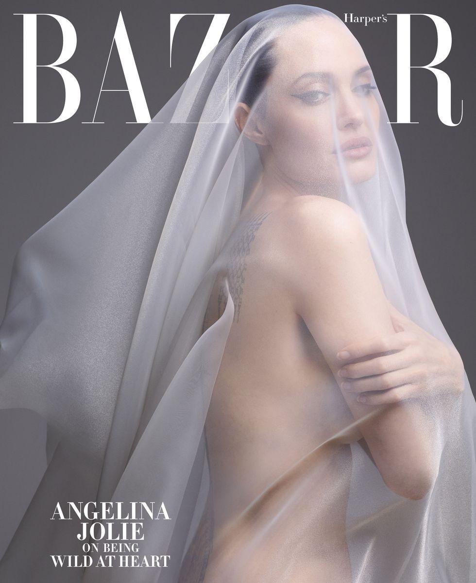"""""""Я хочу жить не в США, но мне мешает Брэд"""". Анджелина Джоли в съемке Harper's Bazaar (фото 2)"""