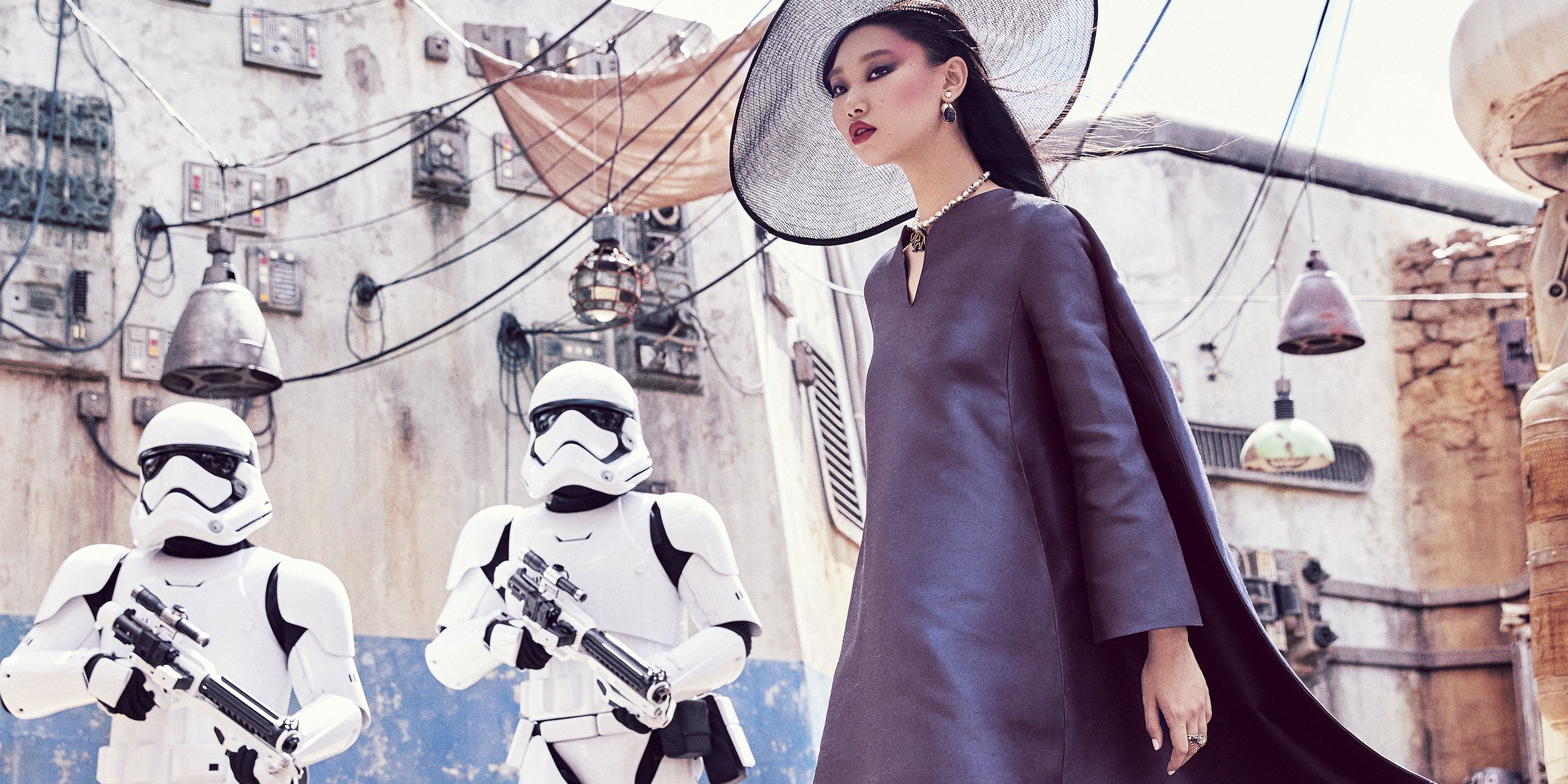 Disney World's New Star Wars Attraction Gets the High Fashion Treatment