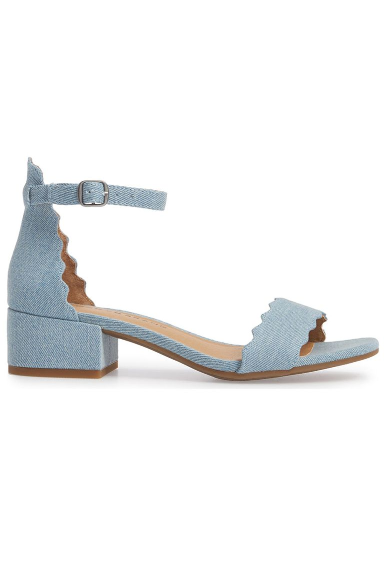 8e9aa5c5fb312a Alert  Most of Summer s Hottest Denim Sandals Are Now On Sale - All ...