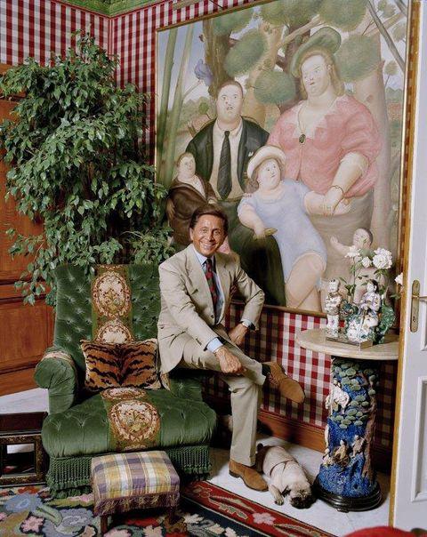 Room, Art, Textile, Tartan, Furniture, Pattern, Interior design, Tapestry, Still life, Antique,