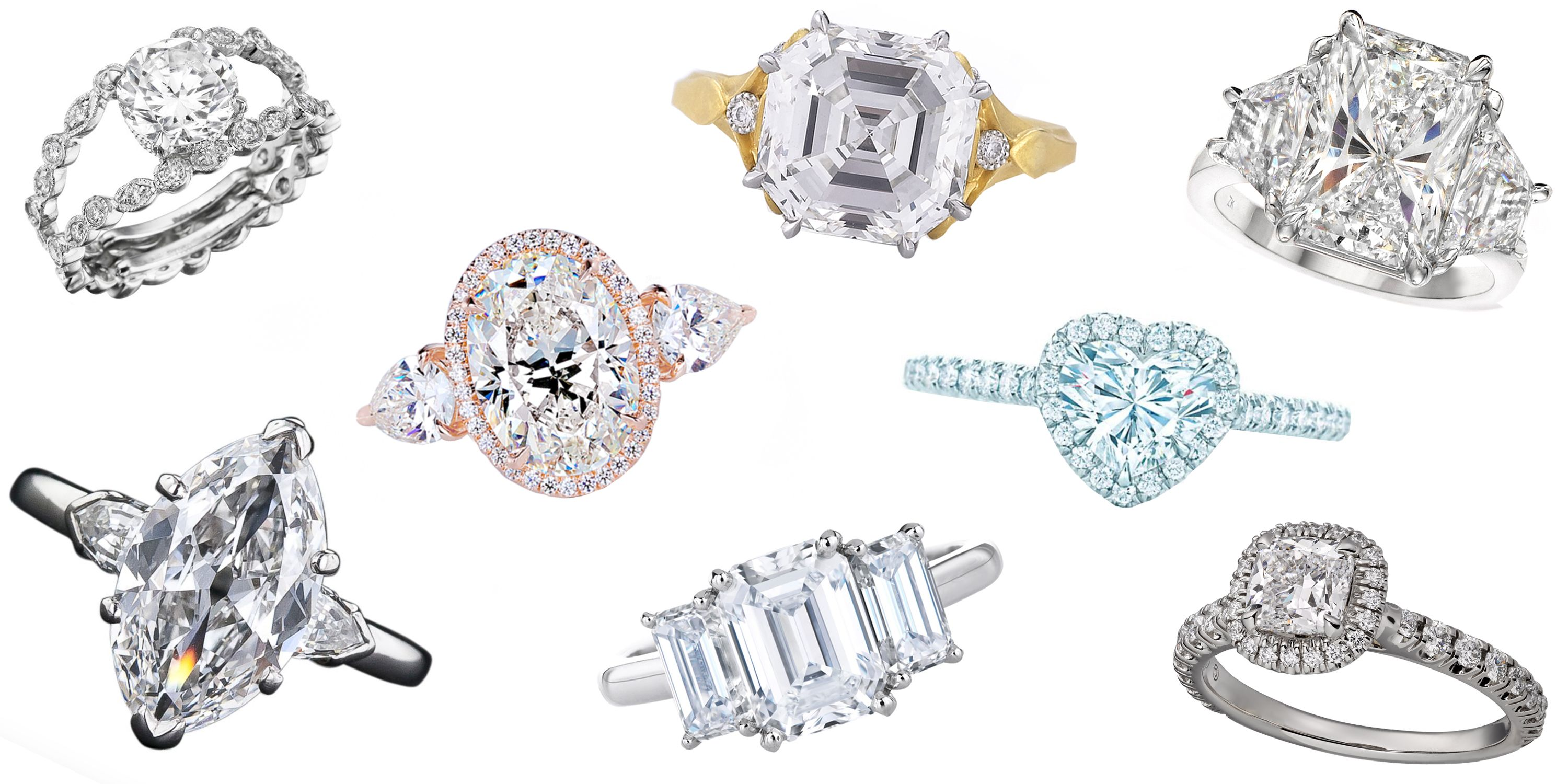 Attractive Engagement Ring Cuts Every Woman Should Know   Best Diamond Engagement Ring  Styles Great Pictures