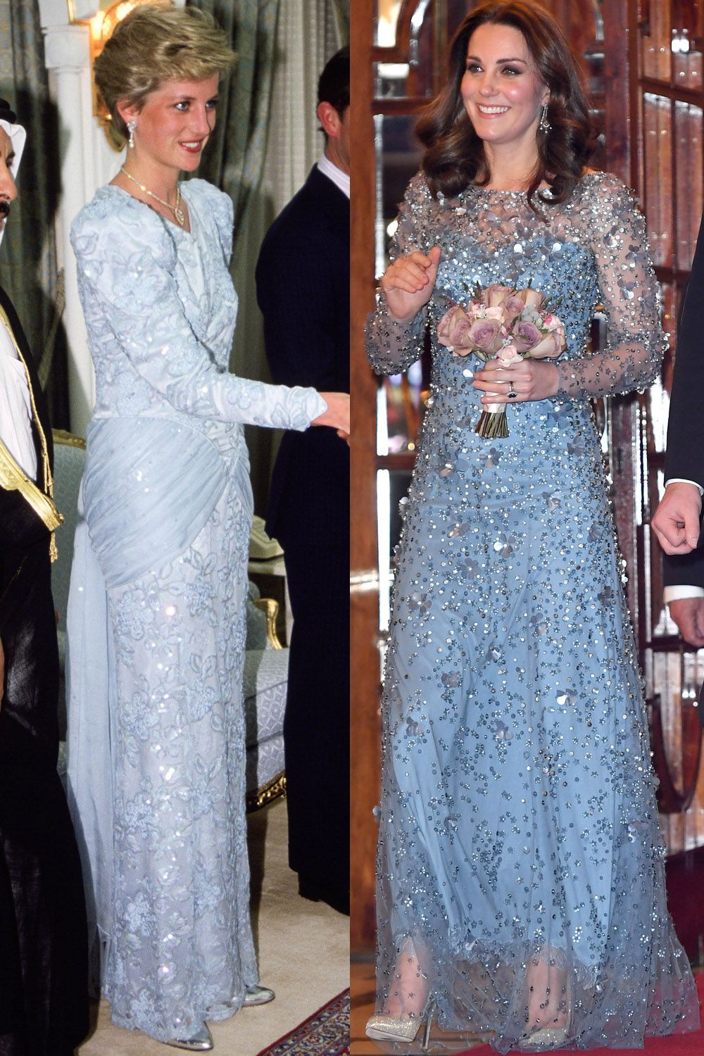 Princess Diana and Kate Middleton Have the Same Style - Kate ...
