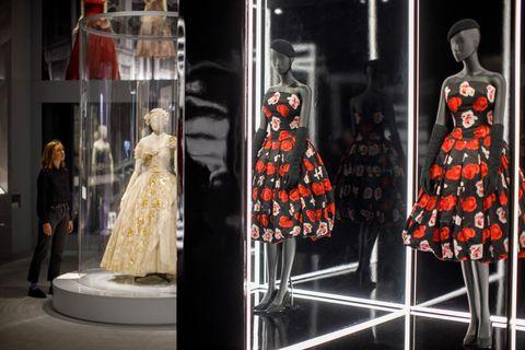 Display case, Display window, Fashion, Dress, Mannequin, Boutique, Design, Retail, Window, Fashion design,