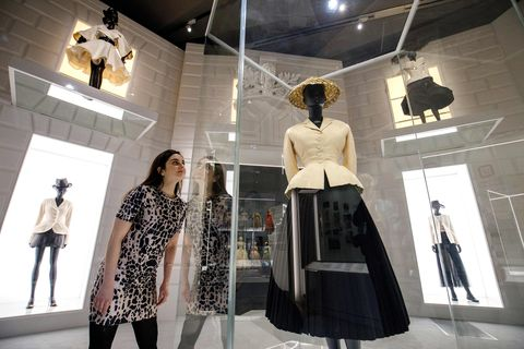 Fashion, Boutique, Fashion design, Street fashion, Display window, Design, Display case, Mannequin, Outerwear, Event,
