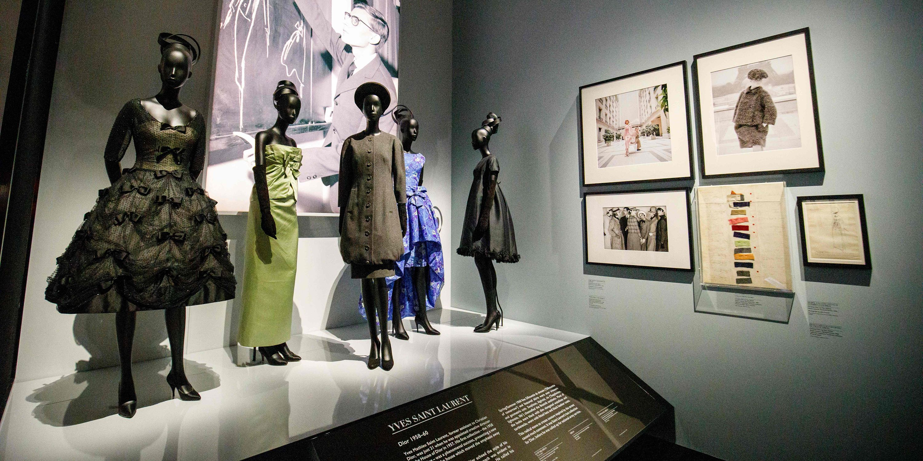 All of the Photos from the Christian Dior Exhibit at the V A Museum in  London 922f6ab640a