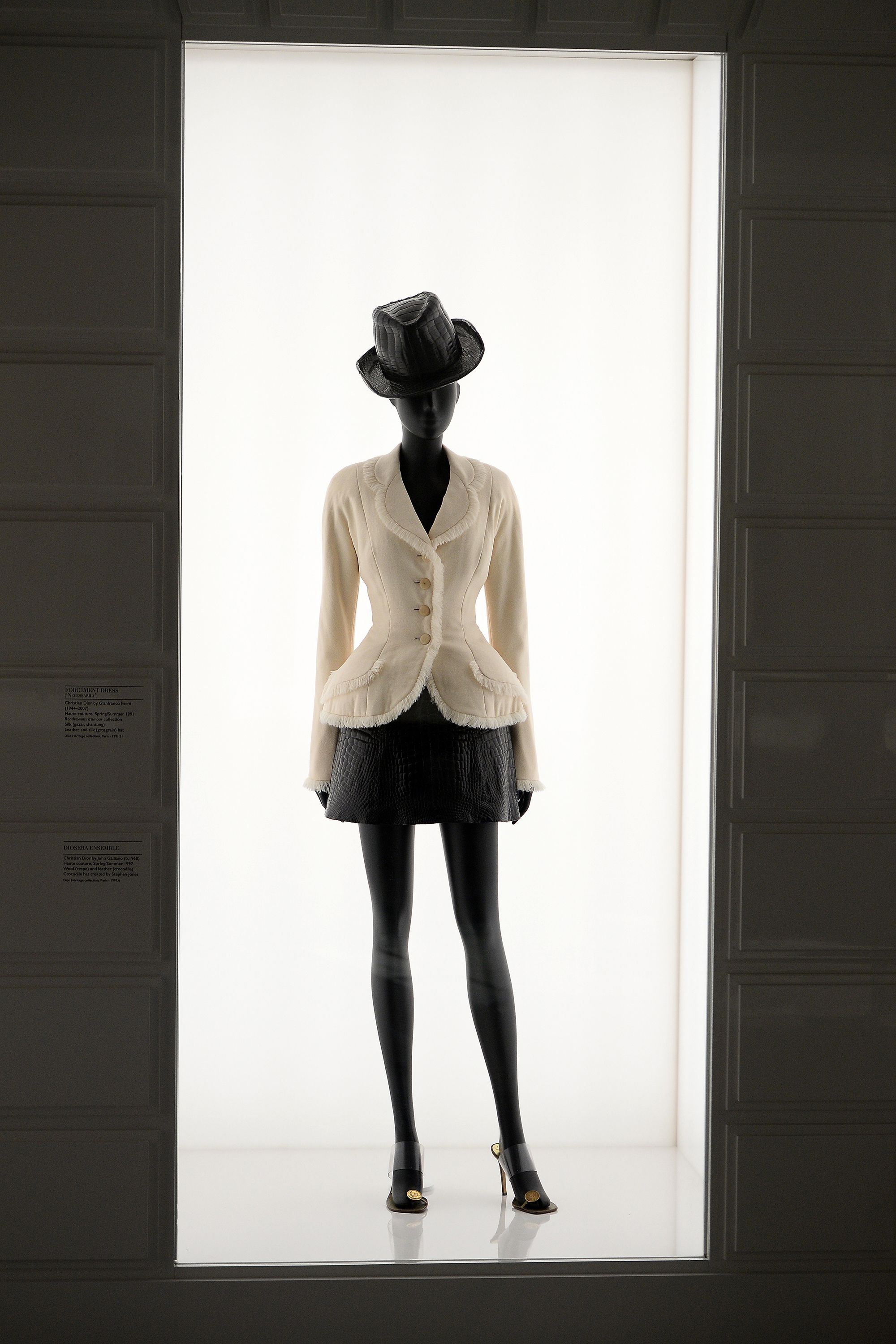 9cbfb2335be All of the Photos from the Christian Dior Exhibit at the V A Museum in  London