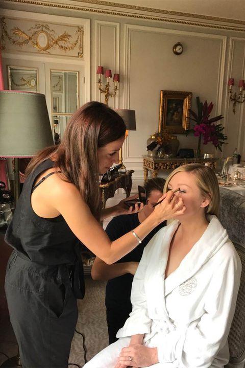 Beauty salon, Event, Dress, Ceremony, Makeup artist,
