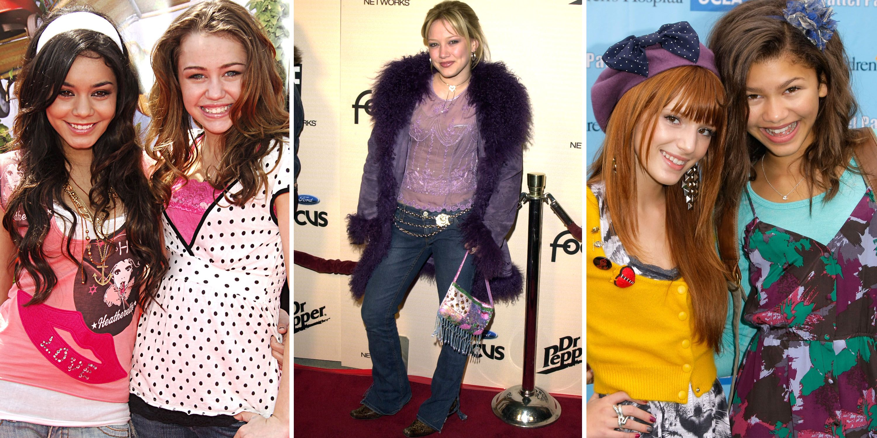 25 Disney Star Style Evolutions That Will Make You Miss the 2000s