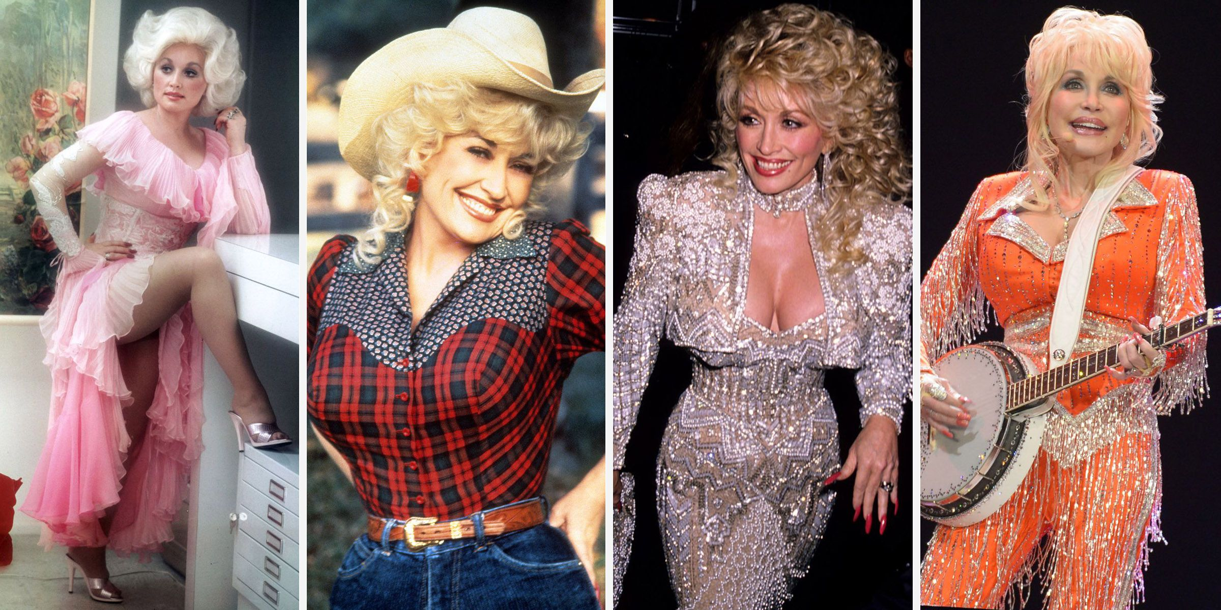 Dolly Parton's Bedazzled Country Style Over the Years