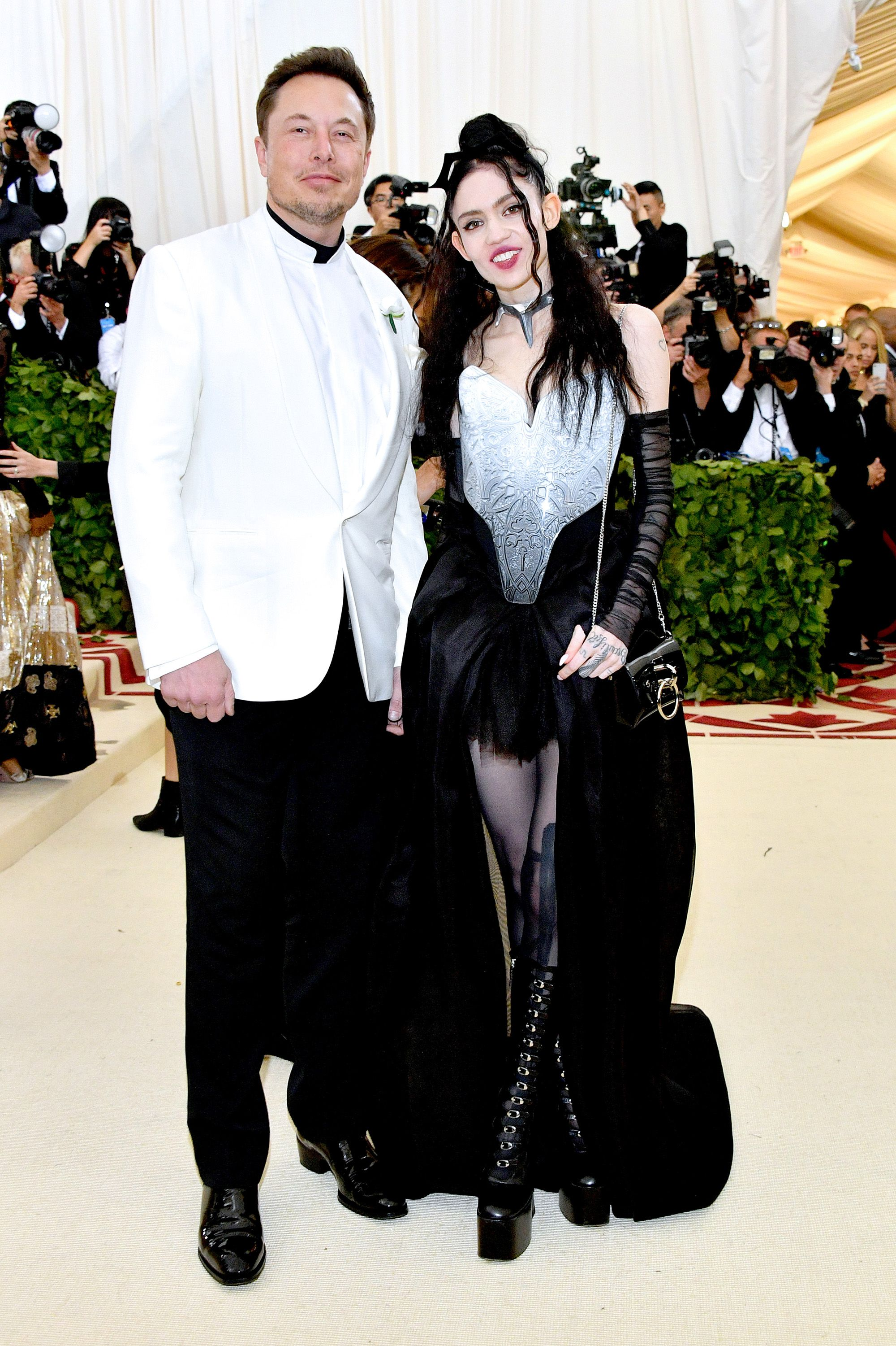 Who is grimes dating